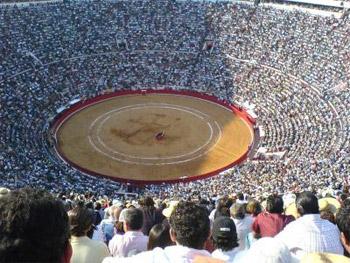 Mexico City: Plaza Mexico, The World's Largest Bullring (http://www.torobull.com/images/plaza-de-toros-mexico.jpg)